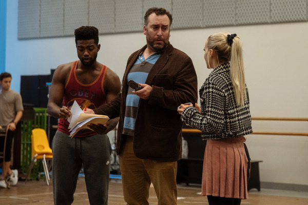 Photo Flash: Inside Rehearsal For The New Group's CLUELESS