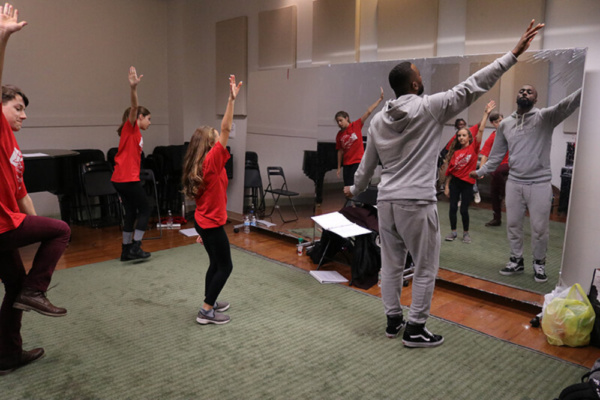 Choreographer LaMar Baylor (The Lion King) worked with The HSE cast in 12 musical numbers for the show.