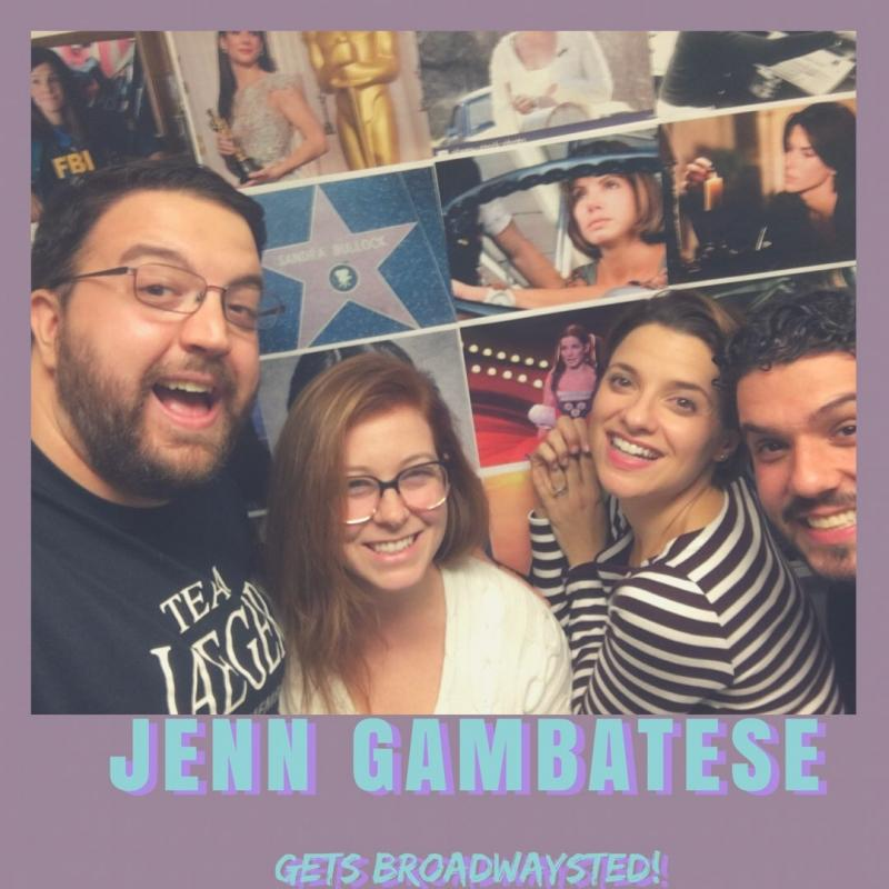 The 'Broadwaysted' Podcast Welcomes Broadway Favorite Jenn Gambatese