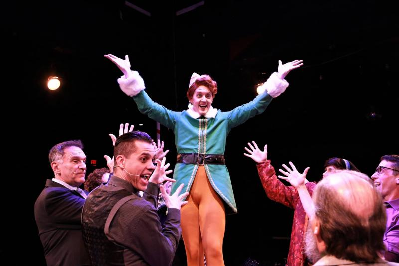 BWW Review: Chase Miller's Star Burns Bright in Chaffin's Barn's ELF THE MUSICAL