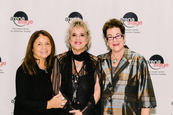 Suzanne Blue Star Boy, Eve Ensler and Molly Smith  Photo