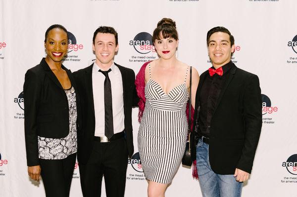 Watson Brown, Mickey Orange, Andrea Weinzierl and Julio Catano-Yee