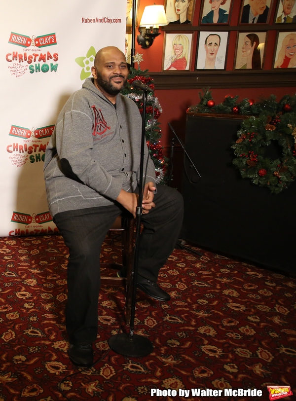 Photo Coverage: Ruben Studdard & Clay Aiken Preview Their FIRST ANNUAL CHRISTMAS SHOW!