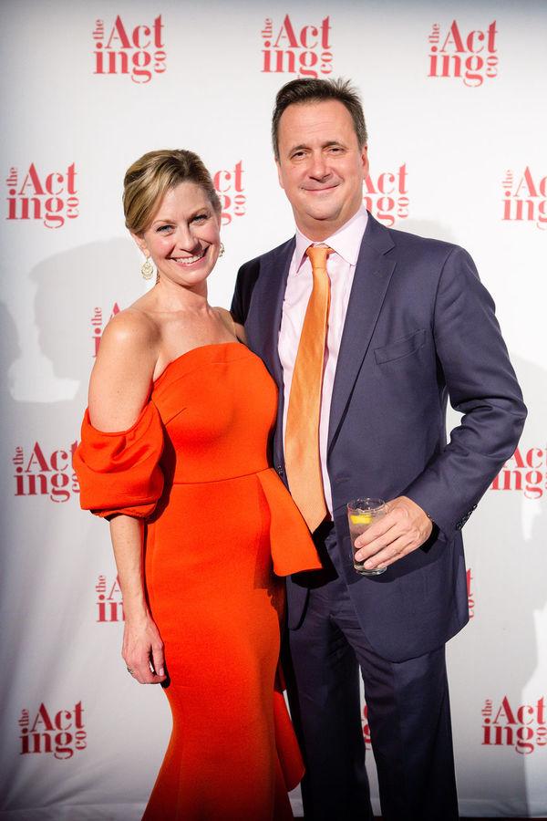 Acting Company alum Angela Pierce and Alexander Coxe