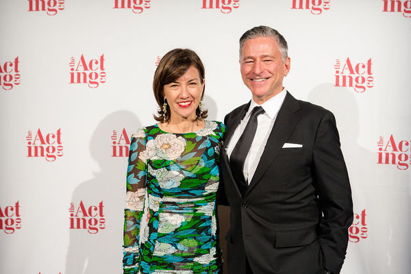 Board member Vin Cipolla and Celine McDonald