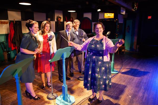 Photo Flash: Swift Creek Mill Theatre Presents A 1940s RADIO CHRISTMAS CAROL