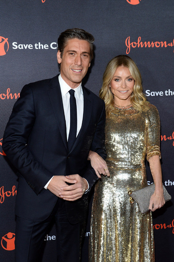 David Muir and Kelly Ripa