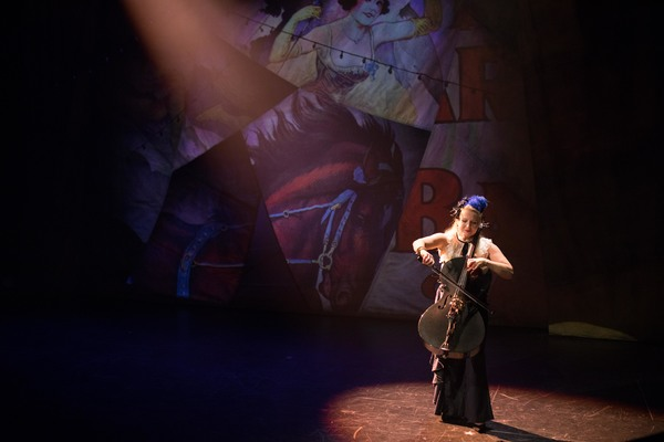 Dorothy Lawson of ETHEL in Circus: Wandering City. Photo by Max Gordon.