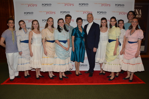 Diana Byer (Founder and Artistic Director) with members of New York Theatre Ballet th Photo