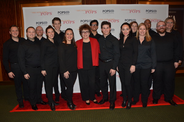 Judith Clurman (Music Director and Conductor) with members of Essential Voices USA th Photo