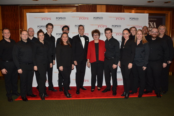 Steven Reineke and Judith Clurman with members of Essential Voices USA that includes- Photo