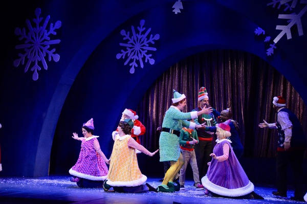 Photo Coverage: The Cast of ELF THE MUSICAL Takes Opening Night Bows