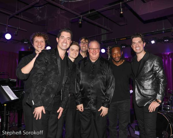 Chris Agar, Will Nunziata, Daniel Dickinson, Pete Smith, Eugene Gwozdz, Mark McLean, Anthony Nunziata