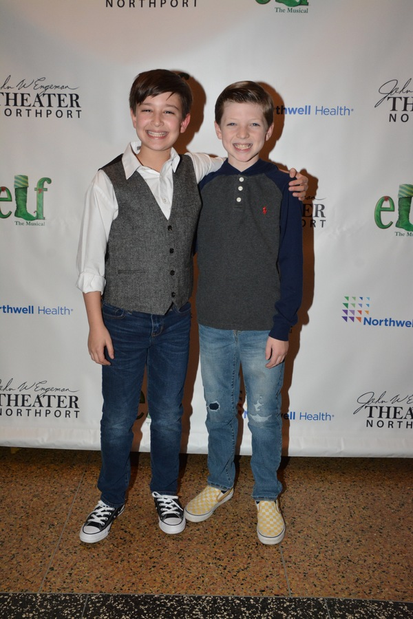 Zachary Podair and Kieran Brown
