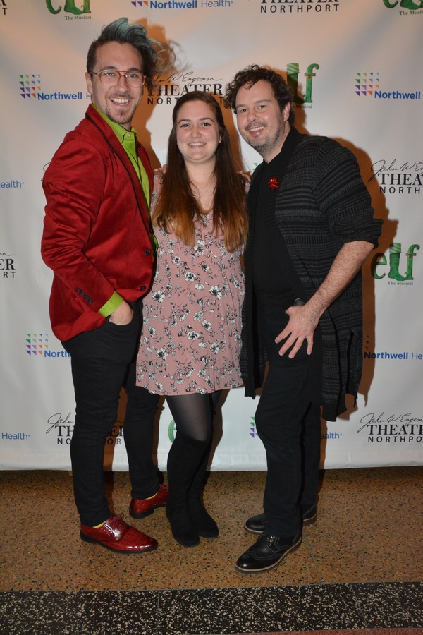 Nate Bertone (Scenic Design), Kristie Moschetta (Prop Design) and Kurt Alger (Wig and Photo