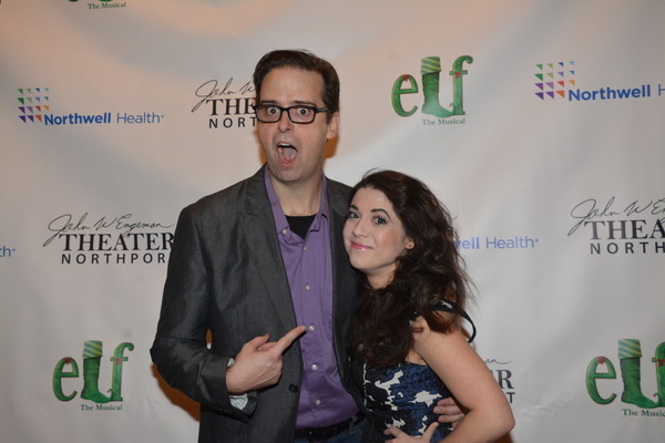 Photo Coverage: The Cast of ELF THE MUSICAL Celebrates Opening Night