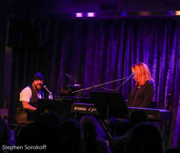 Photo Coverage: Kristin Chenoweth and Desmond Child Drop By Victoria Shaw's Concert at Birdland Theater