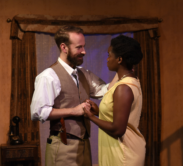 Rubin (Chris Daley) and Cora (Aneisa Hicks) Photo