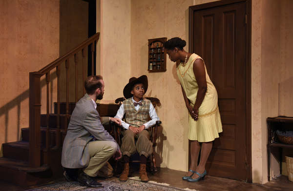 Rubin (Chris Daley), Sonny (Davu Smith), and Cora (Aneisa Hicks) Photo