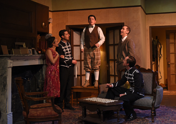 Photo Flash: First Look at Eclipse Theatre's THE DARK AT THE TOP OF THE STAIRS