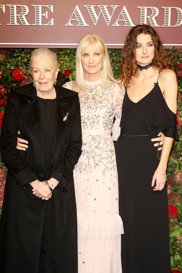 Vanessa Redgrave, Joely Richardson and Daisy Bevan