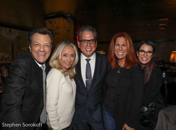 Jim Caruso, Eda Sorokoff, Billy Stritch Victoria Shaw, Ruby Locknar Photo