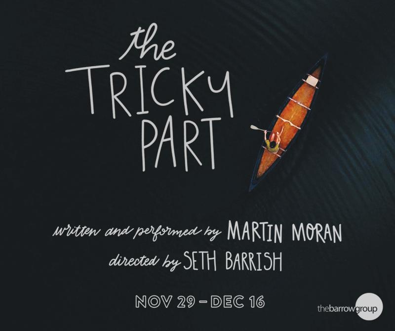 BWW Interview: Martin Moran Returns with THE TRICKY PART at The Barrow Group