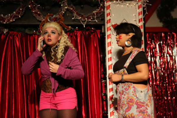 Photo Flash: Inside Hell In A Handbag Productions' SNOWGIRLS - THE MUSICAL