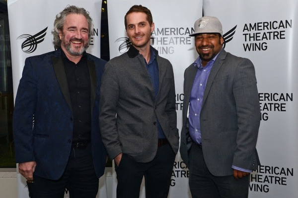 Photo Flash: Wilbury Group accepts 2018 National Theatre Company Award From American Theatre Wing