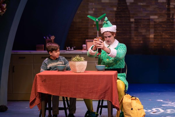Zachary Podair (Michael Hobbs) and Erik Gratton (Buddy the Elf)