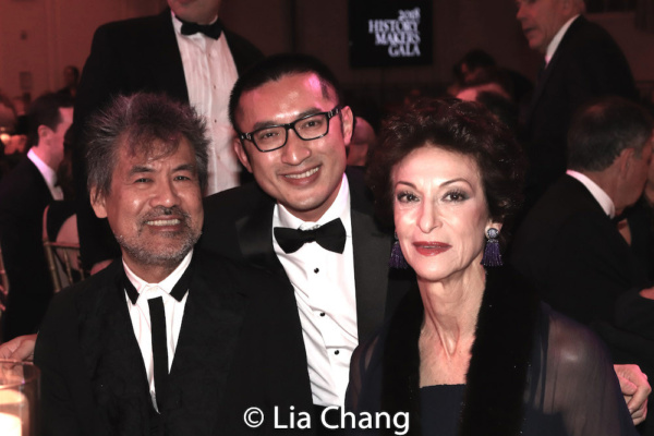 Playwright David Henry Hwang, Opera Composer Huang Ruo, Judith-Ann Corrente, CEO, President and Director of Metropolitan Opera