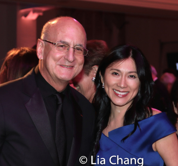 Peter Gelb, General Manager of the Metropolitan Opera, and honoree Dr. H.M. Agnes Hsu Photo