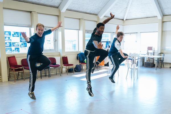 Adam Rhys Charles, Dex Lee and Ross McLaren Photo