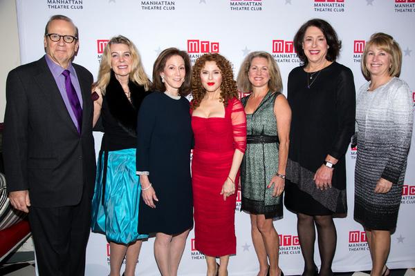 Barry Grove, Lisa Towbin, Susan Winter, Bernadette Peters, Sue Slager, Lynne Meadow, Jean Scannell