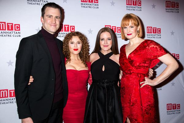 Gavin Creel, Bernadette Peters, Jennifer Simard, Kate Baldwin