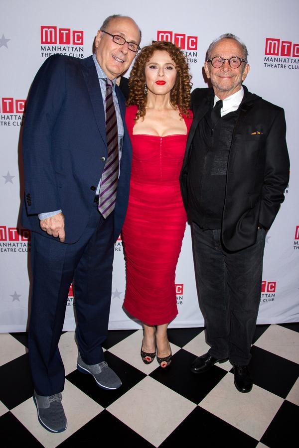 James Lapine, Bernadette Peters, Joel Grey