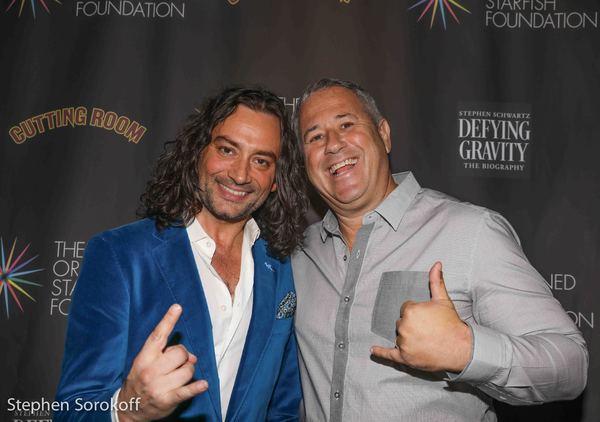 Constantine Maroulis & Andy Stein