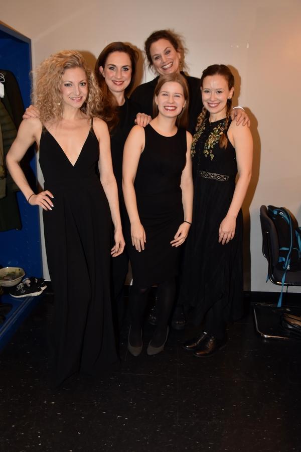Lauren Molina, Caroline Kinsolving, Emma Wisniewski, Cady Huffman and Molly Ranson