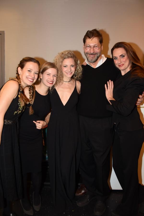 Molly Ranson, Emma Wisniewski, Luren Molina, David Staller and Caroline Kinsolving