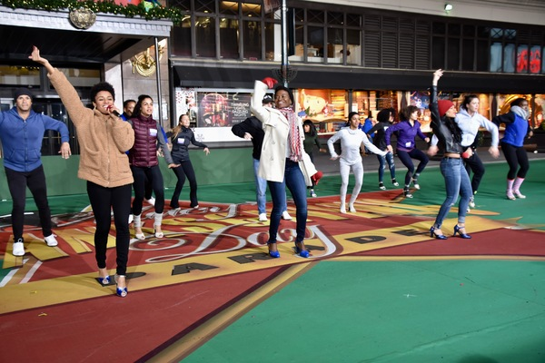 Photo Coverage: MY FAIR LADY, MEAN GIRLS & More Rehearse for Macy's Thanksgiving Day Parade!
