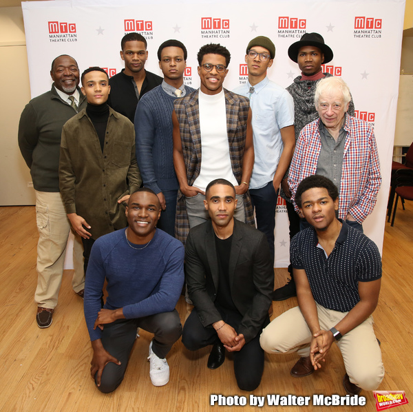 Back row: Chuck Cooper, Nicholas L. Ashe, Daniel Bellomy,  J. Quinton Johnson, Jeremy Photo