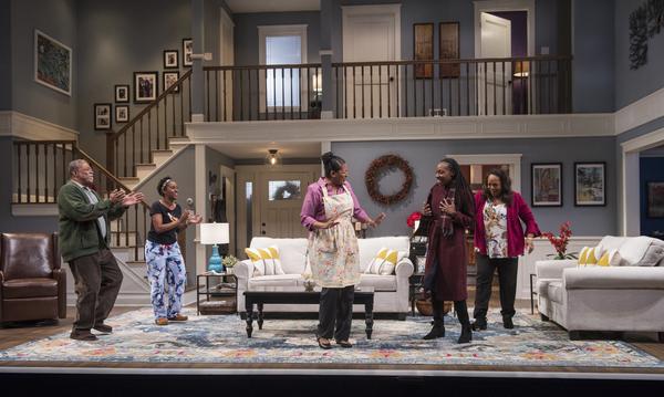 Cedric Young (Donald Chinyaramwira), Celeste M. Cooper (Nyasha), Ora Jones (Marvelous Chinyaramwira), Lanise Antoine Shelley (Tendikayi) and Jacqueline Williams (Margaret Munyewa)