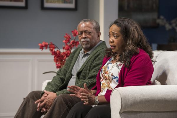 Cedric Young (Donald Chinyaramwira) and Jacqueline Williams (Margaret Munyewa)