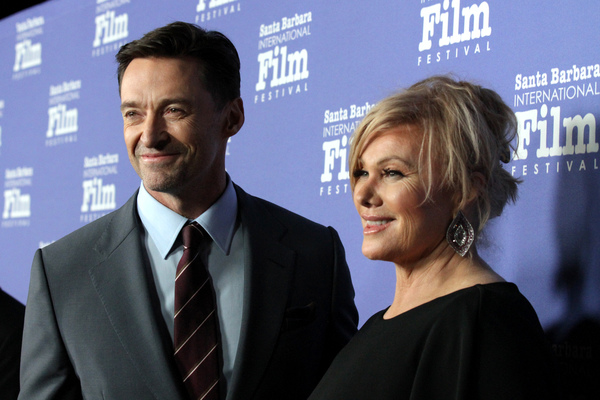 Photo Flash: Hugh Jackman Receives the Kirk Douglas Award for Excellence in Film