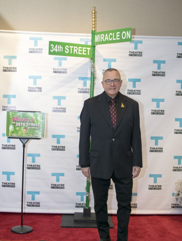 Actor Rick Rapp at Opening Night for Miracle on 34th Street at TATC Photo