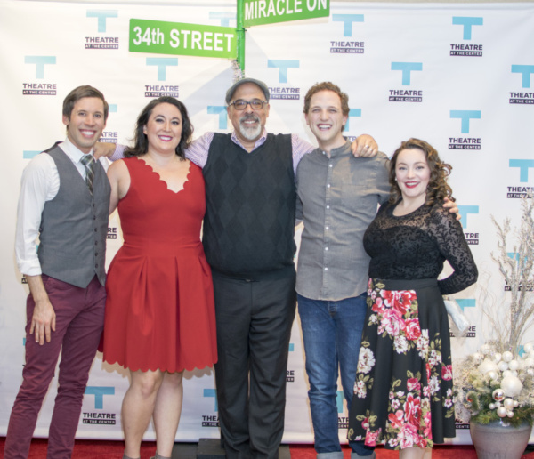 Actors Matthew Huston, Veronica Garza, Michael Kingston, Sam Shankman and Rachel Klip Photo