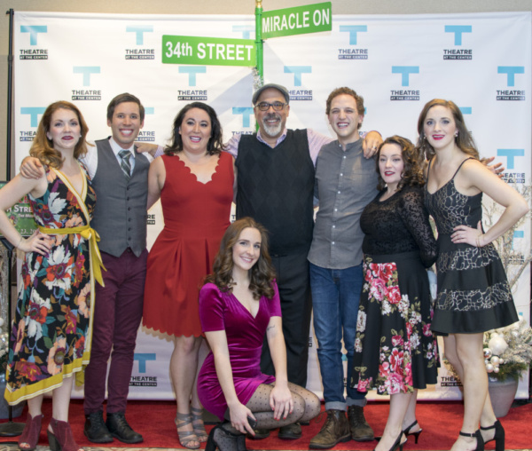 Actors Ashley Lanyon, Matthew Huston, Veronica Garza, Hope Elizabeth Schafer, Michael Kingston, Sam Shankman, Rachel Klippel and Haley Jane Schafer
