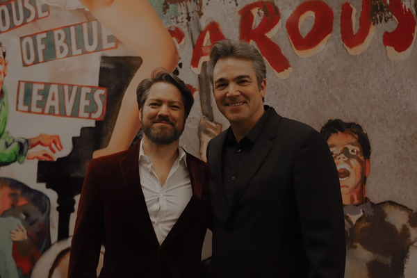 Robert Petkoff and Jon Tenney Photo