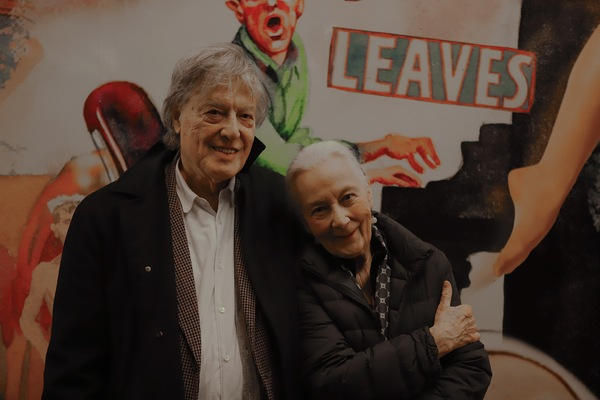 Tom Stoppard and RoseMary Harris