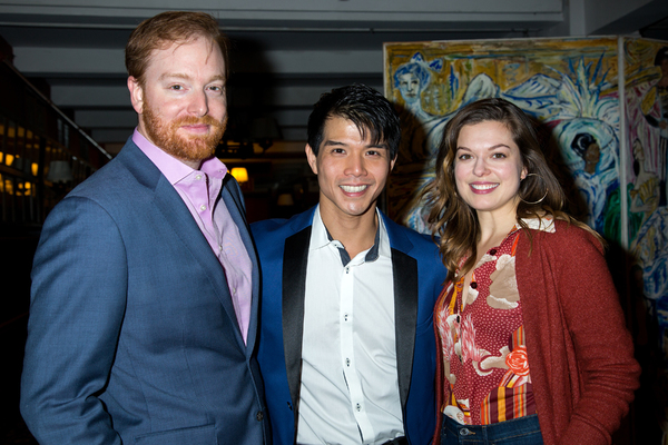 Photo Coverage: Telly Leung Receives His Portrait at Sardi's